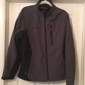 🌟EUC Free Country Men's Jacket Black/Gray Size: M